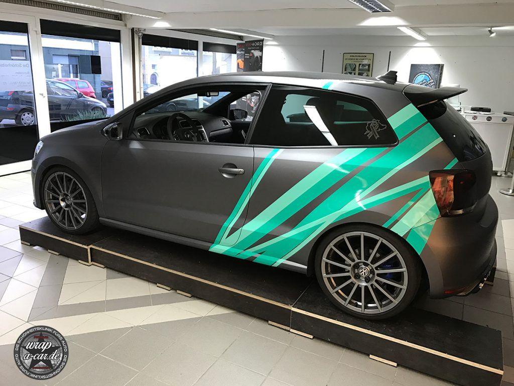 Vw Polo Wrc Design Folierung By Wrap A Car De Volkswagen Polo