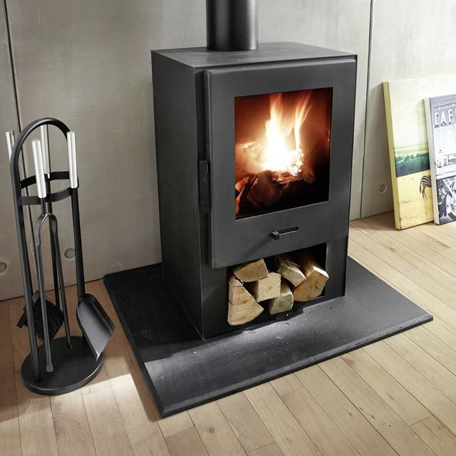 po le bois e41 8000 w castorama fireplaces pinterest salons sous sol and foyers. Black Bedroom Furniture Sets. Home Design Ideas