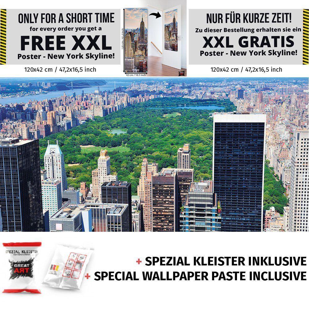 New York Central Park Photo Wall Paper Manhattan Mural Xxl Poster