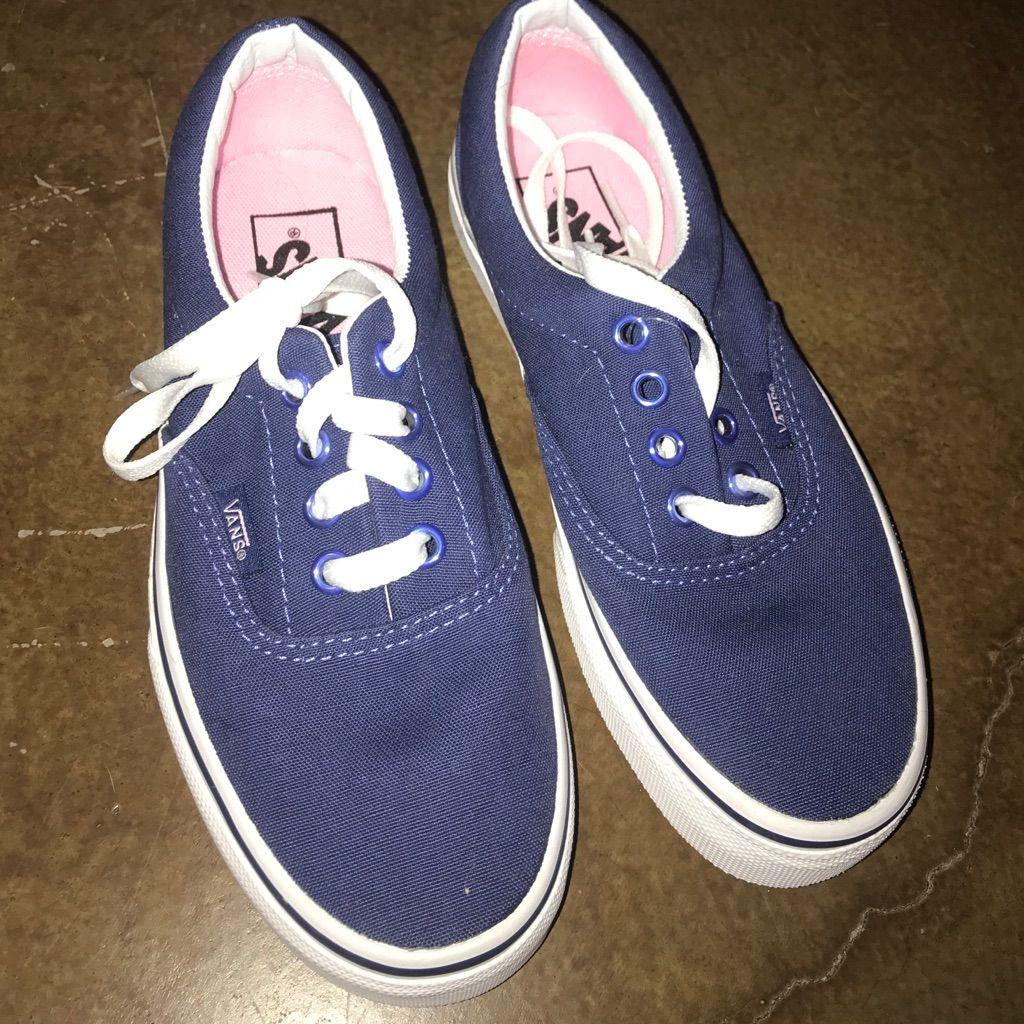 blue vans size 5