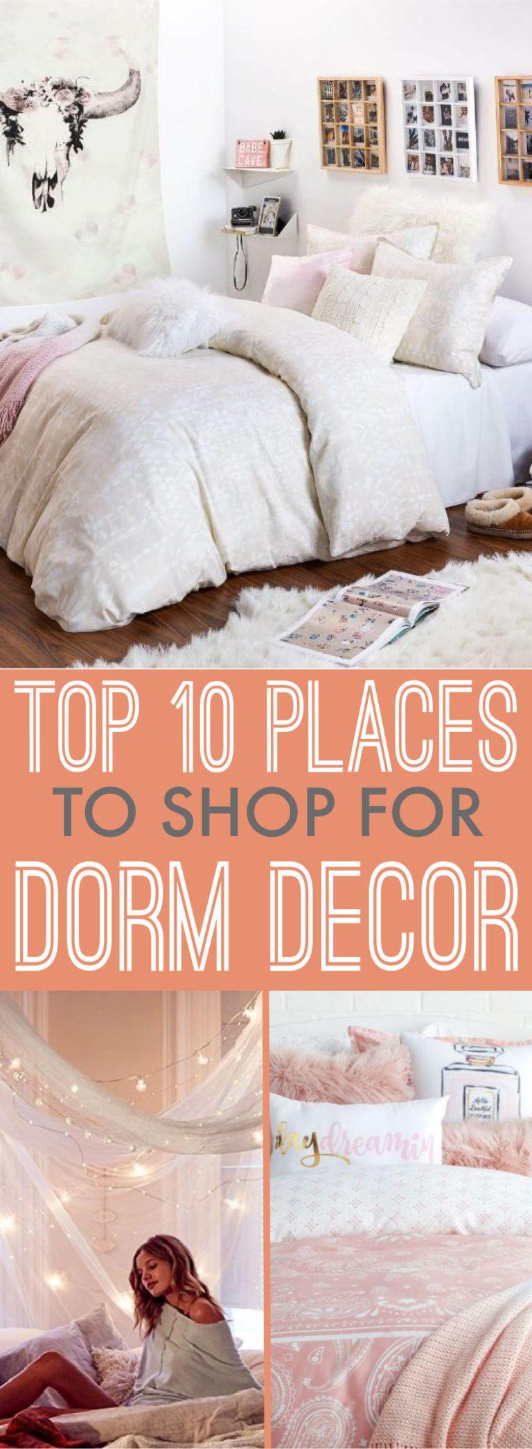Top places to shop for dorm decor college pinterest dorm