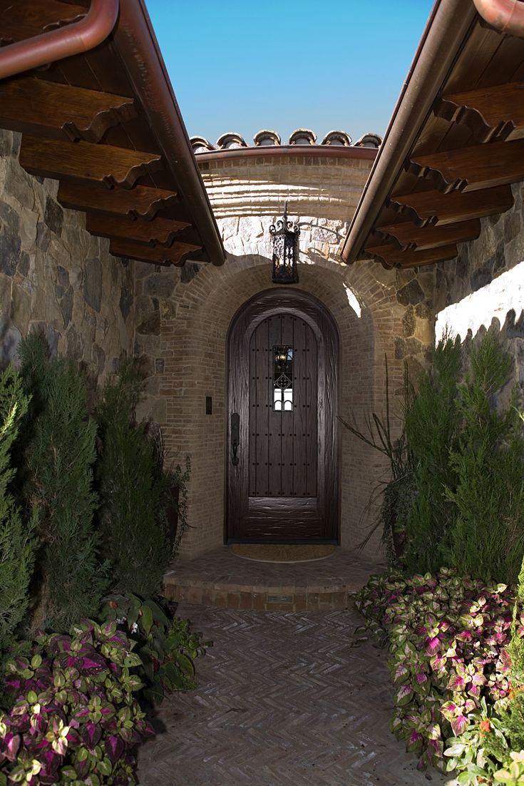 Best Front Exterior Entry Mediterranean Tuscan European 400 x 300