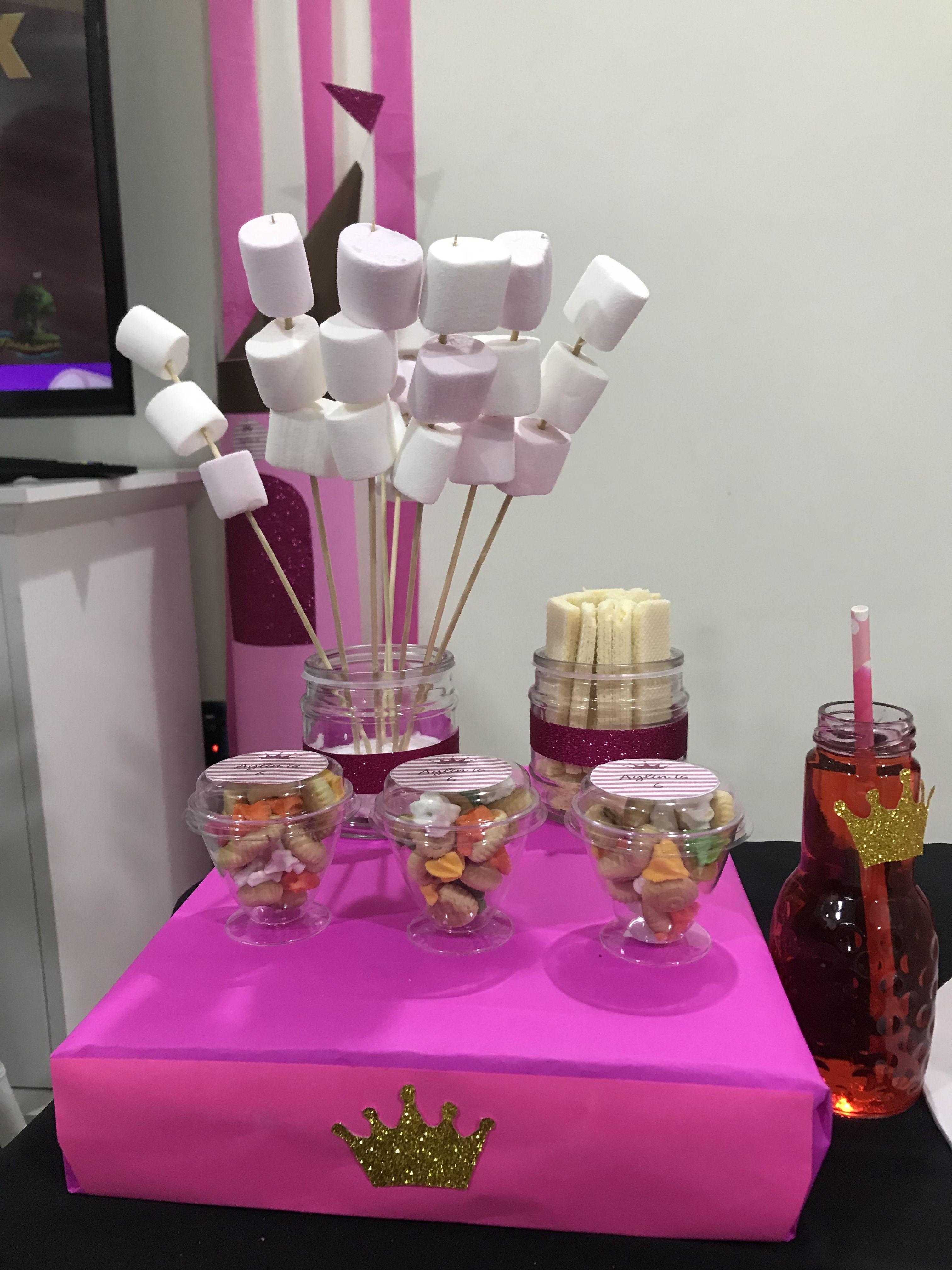 Pin By Aminath Axiefa On Princess Birthday Table Decorations Decor Princess Birthday