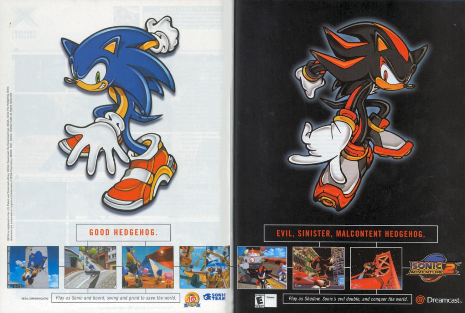 Sonic Adventure 2 Sonic Adventure Sonic Adventure 2 Shadow The Hedgehog