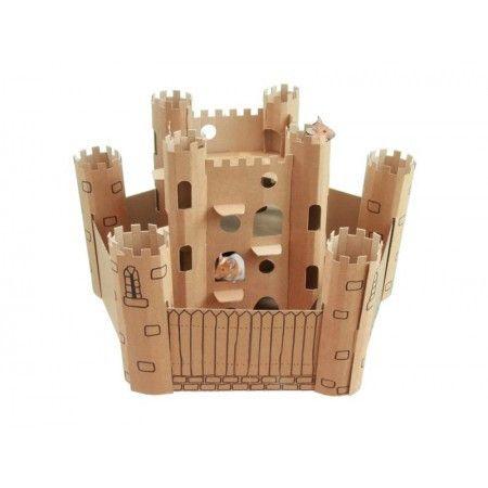 New Arrivals | Cardboard castle, Cardboard, Hamster