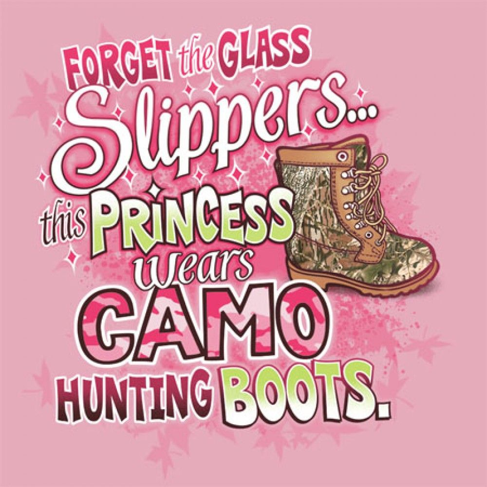 Forget Slippers Princess Boots Tank Top T Shirt Pink Country Hunt Cowboy Girl