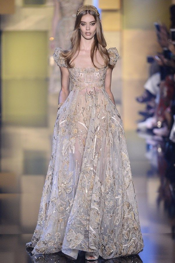 Photo of Elie Saab haute couture AW 2015 runway show