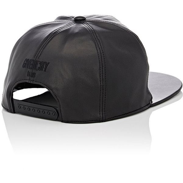 e116d73dcb8 Givenchy Men s Leather Baseball Cap ( 595) ❤ liked on Polyvore featuring  men s fashion