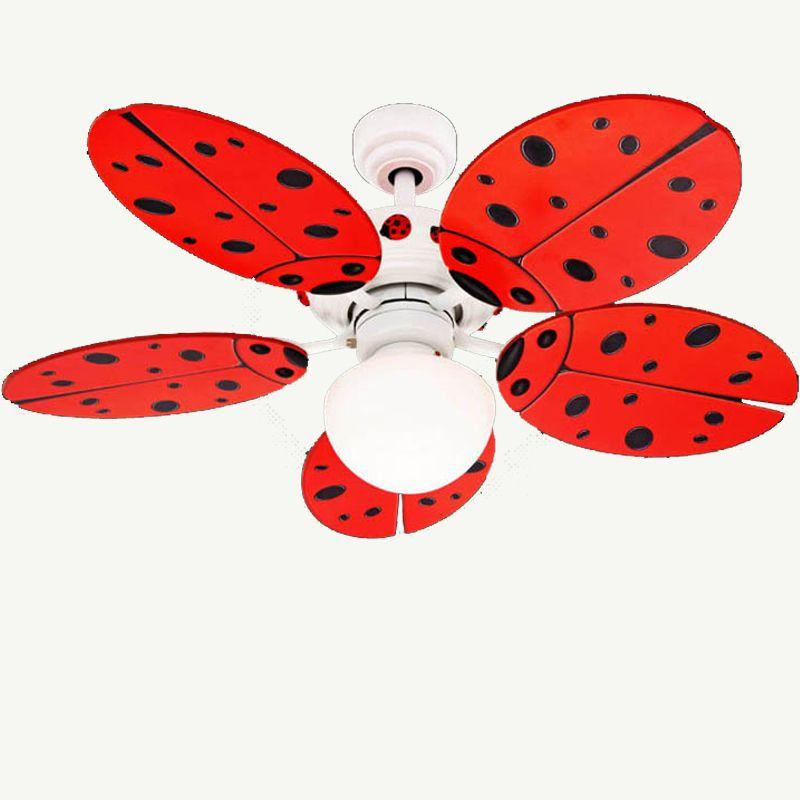 venda quente criança luzes do ventilador fz1001abb ventilador de ventilador de teto com luz frete grátis