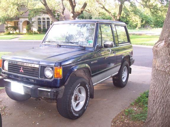 1987 Mitsubishi Montero Mitsubishi Big Garage Fix My Car