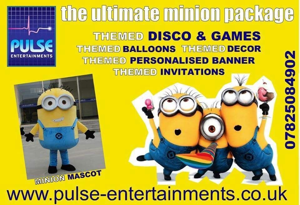 Minion themed party package