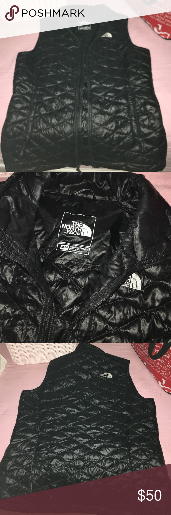 North face vest Prefect condition , just a little to big for me North Face Jackets & Coats Vests