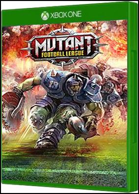Xbox One Game Added Mutant Football League xboxone