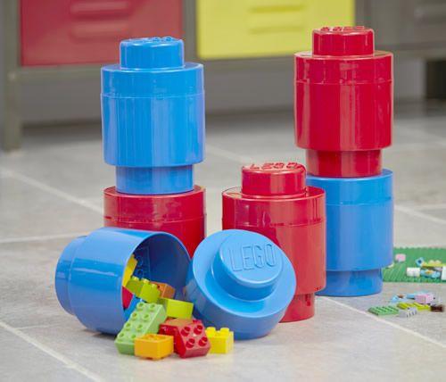 Blue & Red Giant LEGO Storage Blocks Bundle | Giant LEGO Brick ...