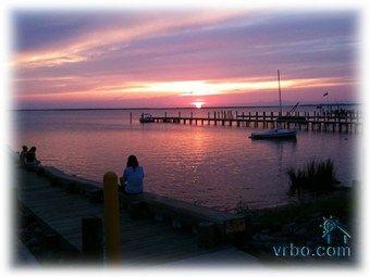 sunset over dock street (5 minute walk away)
