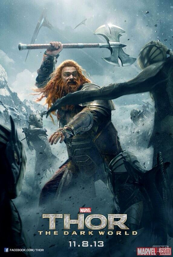 Volstagg Thor 2 The Dark World Mundo Oscuro Peliculas Marvel Figuras De Marvel