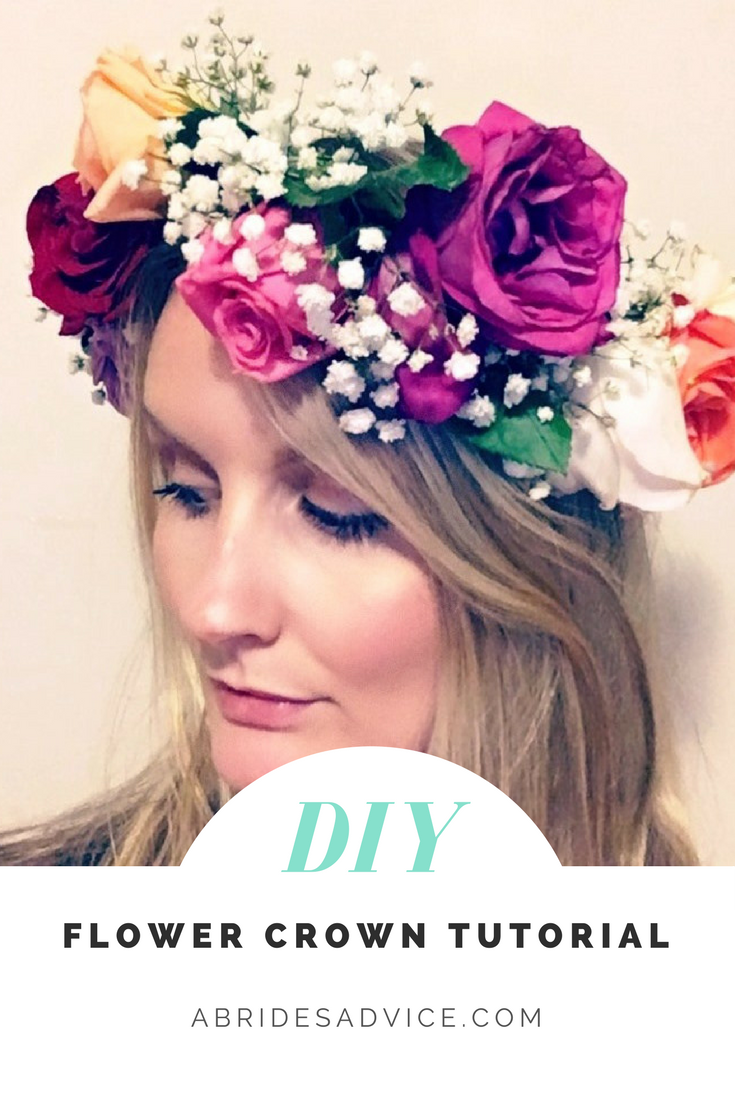 How to make a flower crown easy diy tutorial crown flower diy flower crown flower crown how to make your own flower crown wedding izmirmasajfo