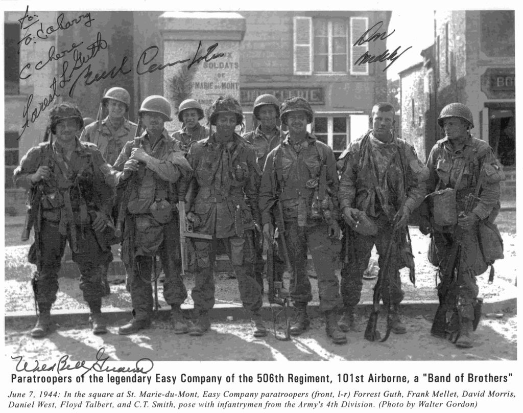 We Stand Alone Welcome To Fyeahtoccoamen This Tumblr Is Dedicated To Band Of Brothers A Hbo Band Of Brothers Wwii History Wwii