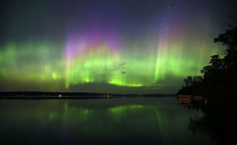 unbelievable hol pinterest aurora borealis minnesota and lakes