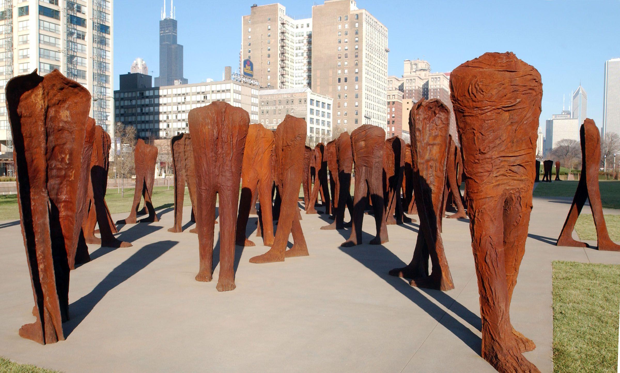 Comprised Of 106 Nine-foot-tall Headless Torsos Agora