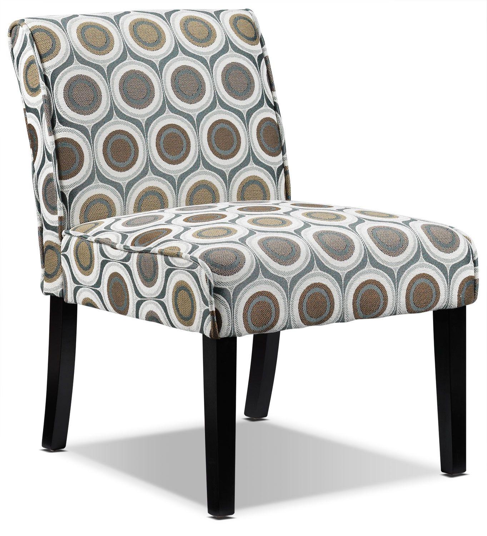 Living Room Furniture - Audrina Slipper Chair