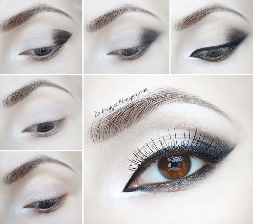 техники макияжа глаз в картинках день