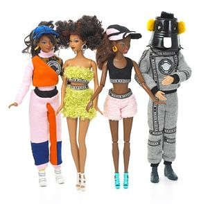 Nasir Mazhar-designed Barbie dolls