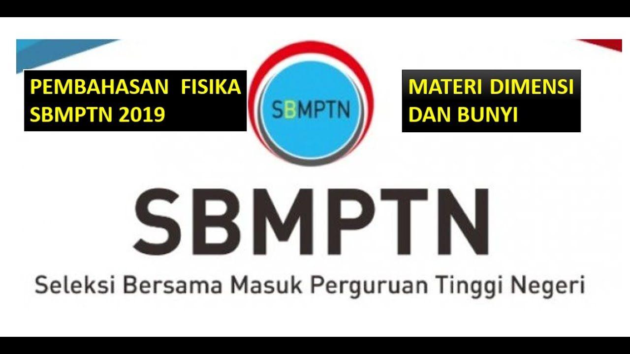 Pembahasan Fisika Sbmptn 2019 Materi Dimensi Dan Bunyi Fisika Guru Persamaan
