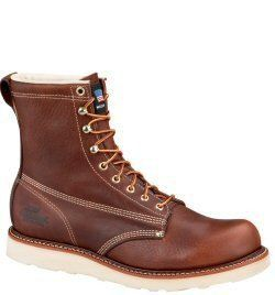 804-4364 Thorogood Men's American Heritage Safety Boots - Tobacco www.bootbay.com