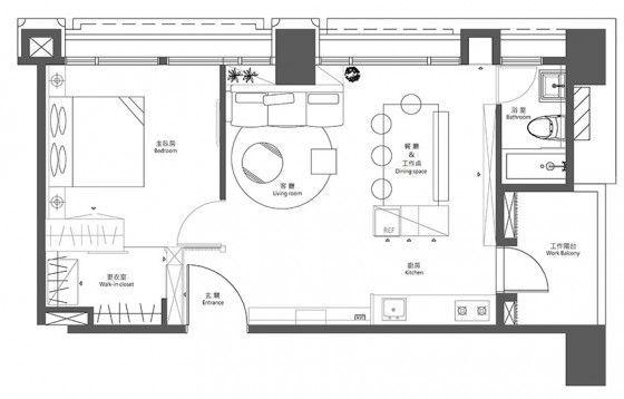 Departamentos pequeños de 55 metros cuadrados, descubre opciones ...