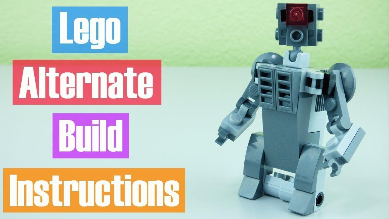 Lego Star Wars First Order Assault Walker Polybag Alternate Build