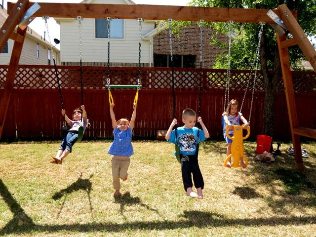 Tutorial For Making An Adult Sized Special Needs Swing Set Each