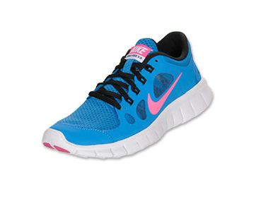 Nike Free Run 5 Blue And Pink