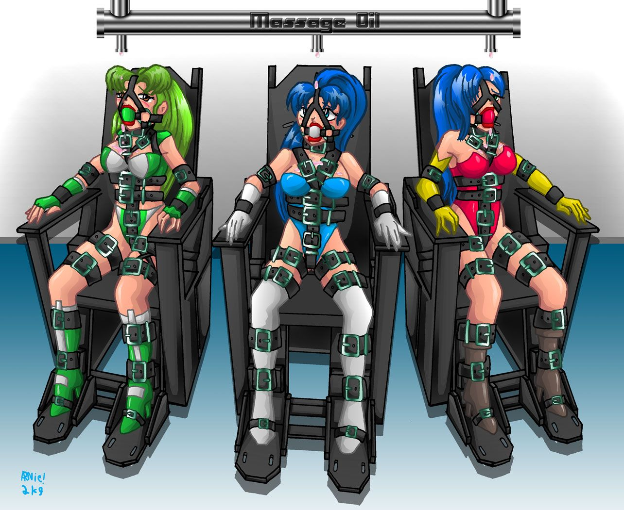 From Deviantart Com Self Bondage Chair Said To Exist