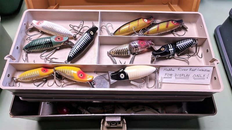 3dprinting saves collectible lures from a fishy ending