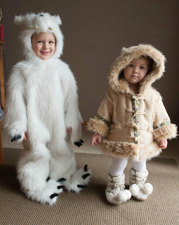 Diy polar bear costume halloween pinterest bear costume polar diy polar bear costume your costume idea for halloween mardi gras and carnival solutioingenieria Choice Image