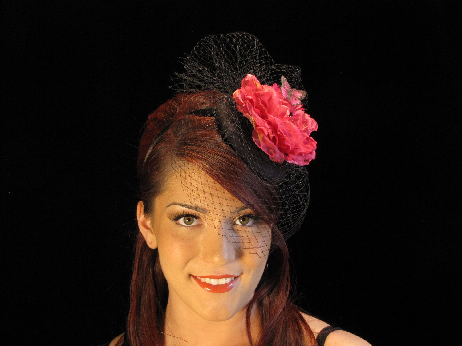 Red butterfly by thefascinatormaven on Etsy, $42.00