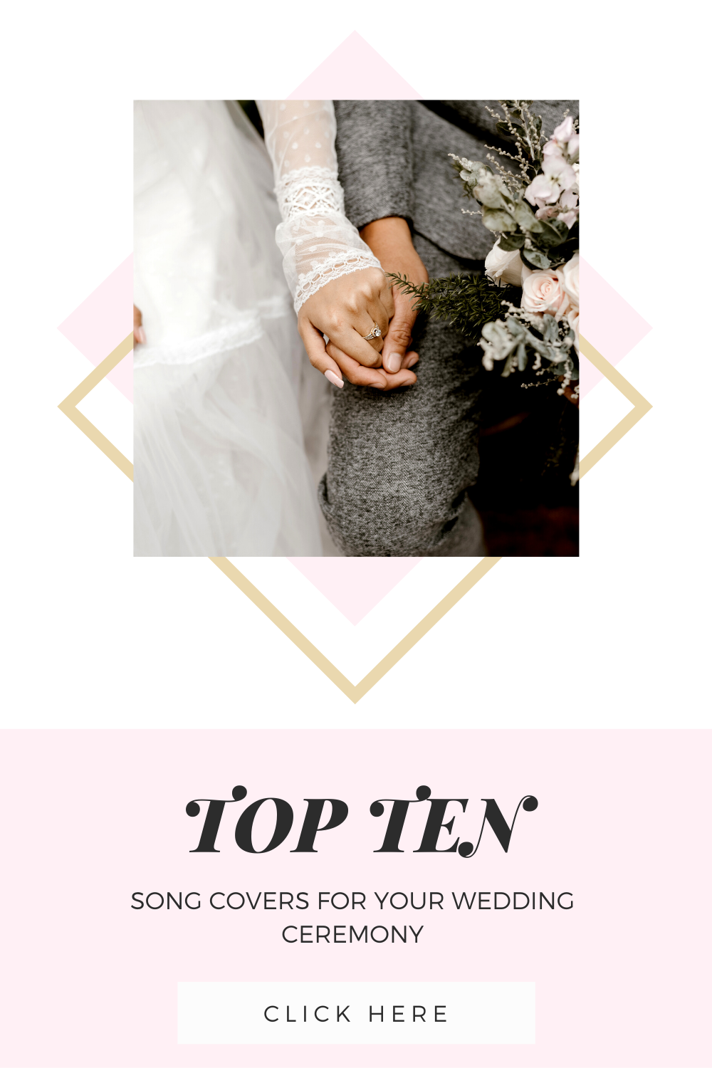 TOP TEN Song Covers for Your Wedding Ceremony in 2020