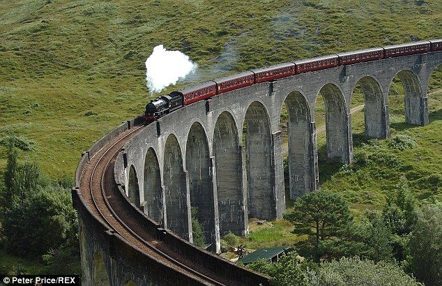 The Caledonian Sleeper train service between London and Fort William named one of the best...