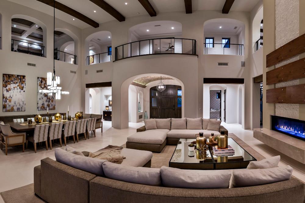 Silverleaf 009 Dream Living Rooms Mansion Interior Dream House