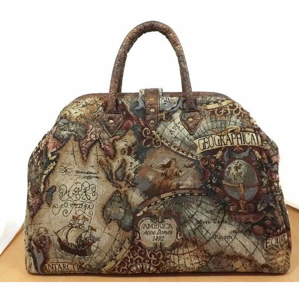 Mary poppins style steampunk carpet bag old world map tapestry 300 mary poppins style steampunk carpet bag old world map tapestry 300 liked on polyvore featuring home home decor and wall art gumiabroncs Choice Image