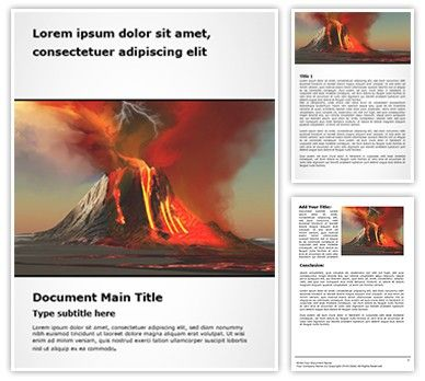 Organize your microsoft word documentation with our volcano free organize your microsoft word documentation with our volcano free word document template download volcano free toneelgroepblik Choice Image