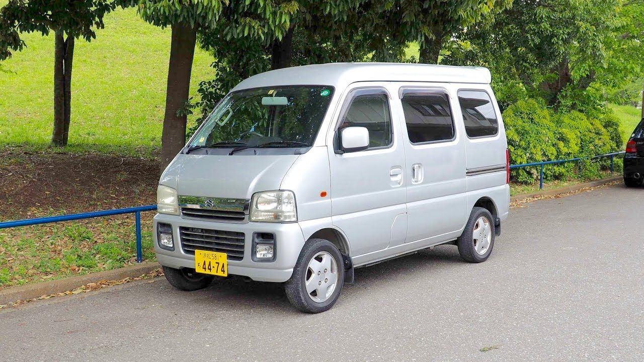 2003 Suzuki Every Kei Van (Canada Import) Japan Auction