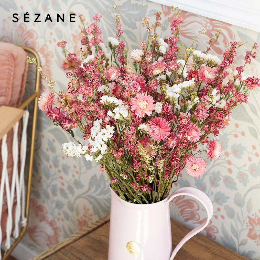 Bouquet de fleurs séchées Les Beaux Jours Sézane en 2019