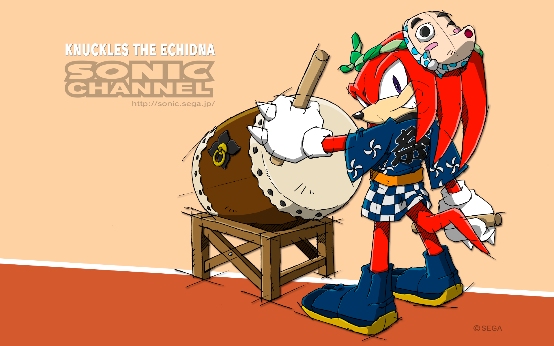 Sonic Channel Wallpaper Knuckles The Echidna Pinterest Sonic