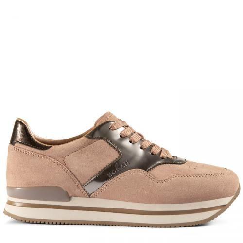 Hogan sneakers h222 Rosa gold ad Euro 355.00 in  Hogan  Schuhe schuhe 8b96067888e