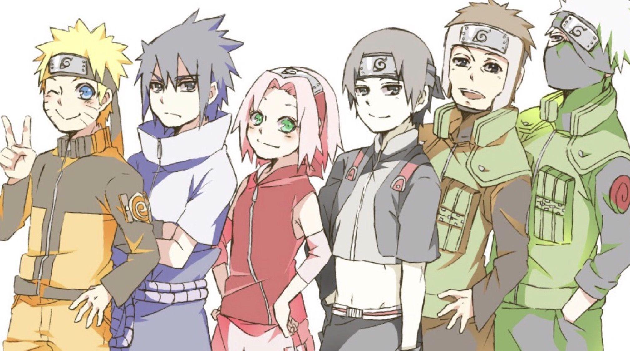 Anime naruto by Amaya Heinz on Naruto Naruto cute, Team 7
