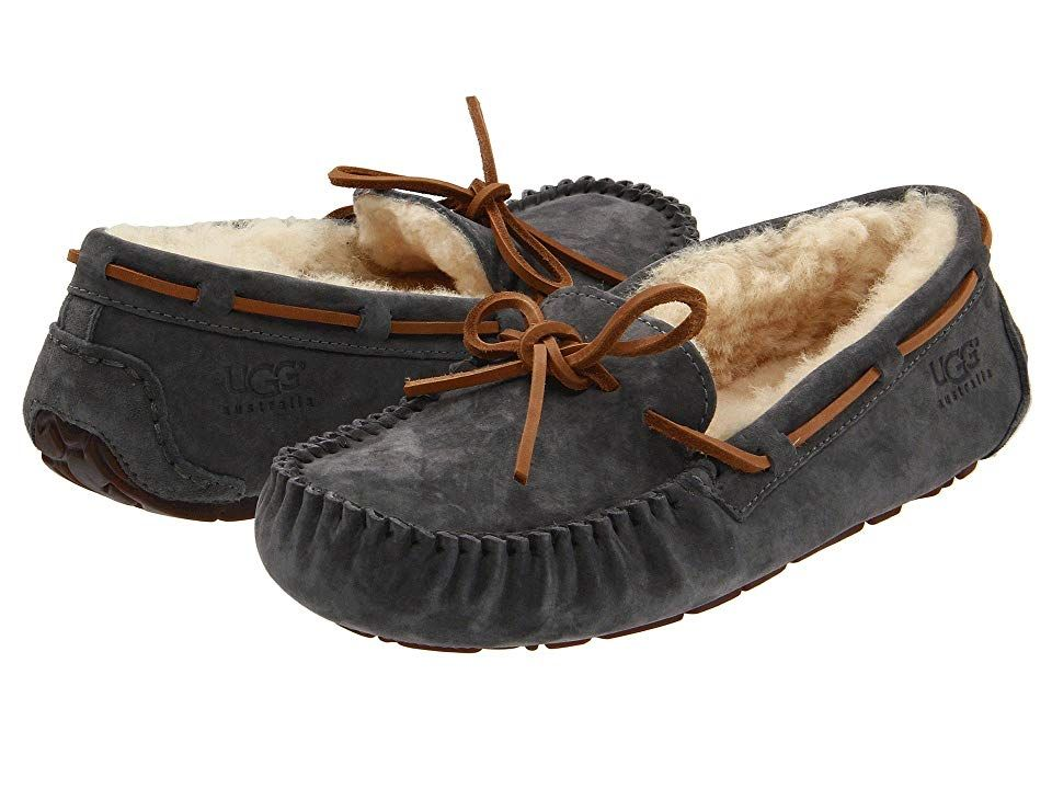 d5f4619754f87 UGG Dakota (Pewter Suede) Women s Moccasin Shoes. Available in whole sizes  only. If between sizes please order 1 2 size up from your usual size.