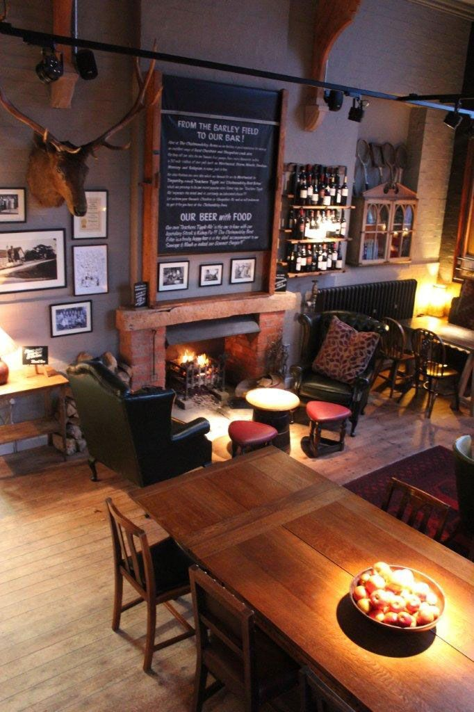 Home Bar Decor Pub Interior Pub Interior Design: One Of The Best Rural Pubs In Britain Just Along The Lane From Www