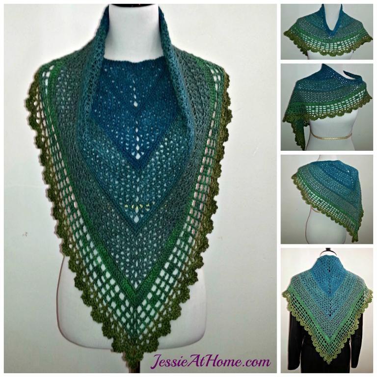 Juliette Shawl by JessieAtHome - Craftsy ~ free pattern | Wrap ...